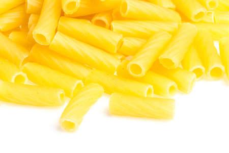 macro closeup of penne pasta background texture Stock Photo - 16621921
