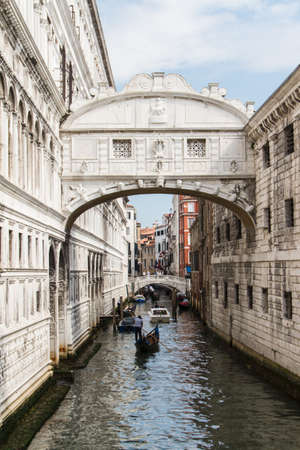 The bridge of sighs - Venice Stock Photo - 16707389