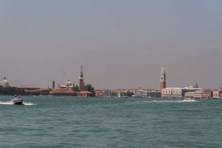 view of San Giorgio island, Venice, Italy, EU photo