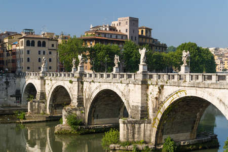 Rome bridges Stock Photo - 16778873