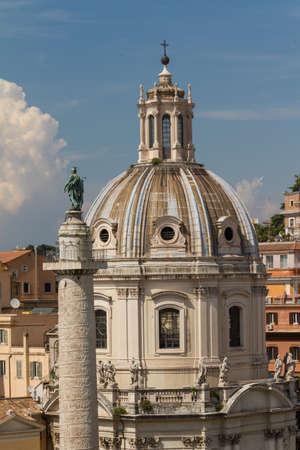 Santissimo Nome di Maria Rome church. Rome. Italy. Stock Photo - 16749386