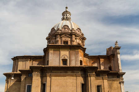 Great church in center of Rome, Italy. Stock Photo - 16699271
