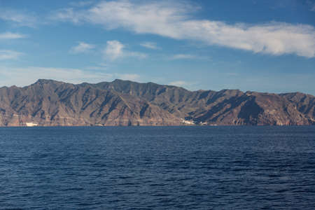 Cliffs of the Los Gigantes (Acantilados de los Gigantes) Tenerife, Spain Stock Photo - 16713749