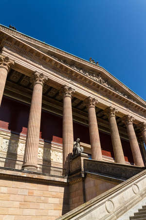 alte: Alte Nationalgalerie on Museumsinsel in Berlin, Germany