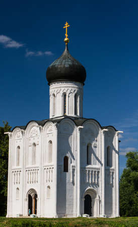 Church of the Intercession on the River Nerl Stock Photo - 16822175