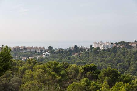 Valldemossa from Majorca view photo