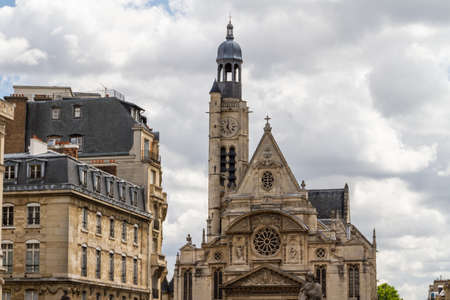 Church Saint Etienne du Mont, Paris, France Stock Photo - 16779605
