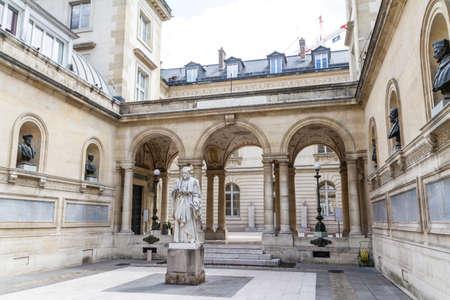 academie: The Sorbonne or University of Paris in Paris, France. Editorial