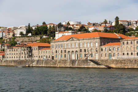 View of Porto city at the riverbank (Ribeira quarter) and wine boats(Rabelo) on River Douro(Portugal), a UNESCO World Heritage City. Stock Photo - 16808133