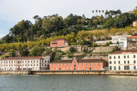 View of Porto city at the riverbank (Ribeira quarter) and wine boats(Rabelo) on River Douro(Portugal), a UNESCO World Heritage City. Stock Photo - 16805090