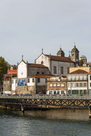 View of Porto city at the riverbank (Ribeira quarter) and wine boats(Rabelo) on River Douro(Portugal), a UNESCO World Heritage City. Stock Photo - 16786245