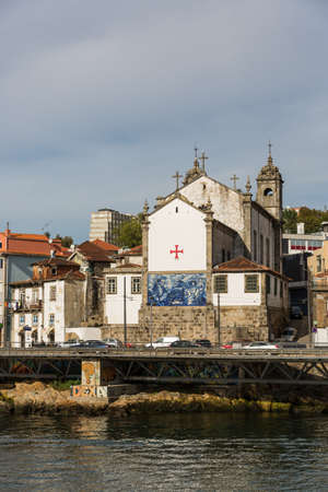 View of Porto city at the riverbank (Ribeira quarter) and wine boats(Rabelo) on River Douro(Portugal), a UNESCO World Heritage City. Stock Photo - 16807045