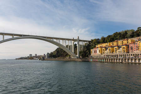 bridge construction: Bridge, Porto, River, Portugal