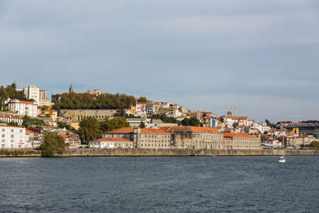 View of Porto city at the riverbank (Ribeira quarter) and wine boats(Rabelo) on River Douro(Portugal), a UNESCO World Heritage City. Stock Photo - 16806621