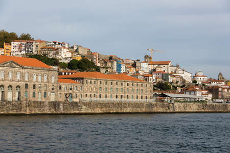 View of Porto city at the riverbank (Ribeira quarter) and wine boats(Rabelo) on River Douro(Portugal), a UNESCO World Heritage City. Stock Photo - 16807528