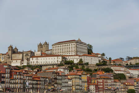 View of Porto city at the riverbank (Ribeira quarter) and wine boats(Rabelo) on River Douro(Portugal), a UNESCO World Heritage City. Stock Photo - 16789110