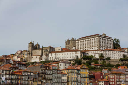 View of Porto city at the riverbank (Ribeira quarter) and wine boats(Rabelo) on River Douro(Portugal), a UNESCO World Heritage City. Stock Photo - 16786439