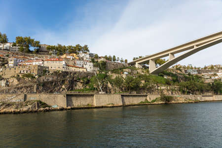luis: Bridge, Porto, River, Portugal