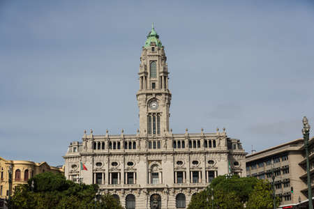 city hall of Porto, Portugal photo