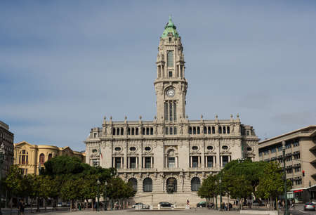 city hall of Porto, Portugal photo