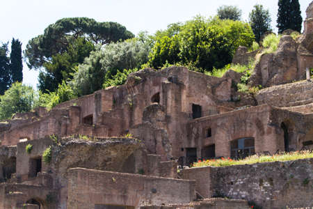 Roman ruins in Rome, Forum photo