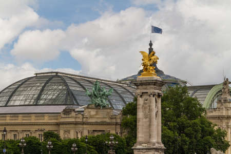 palais: Grand Palais in Paris, France