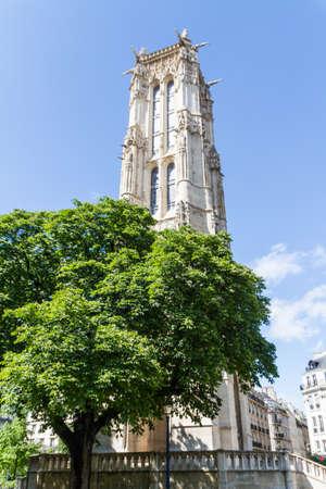 Saint-Jacques Tower, Paris, France. Stock Photo - 16812041