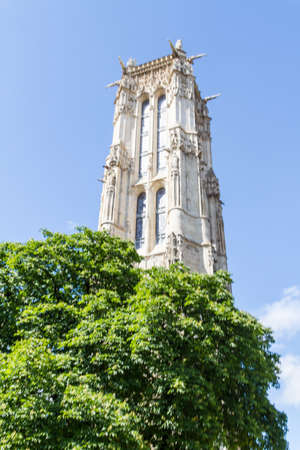 Saint-Jacques Tower, Paris, France. Stock Photo - 16811675