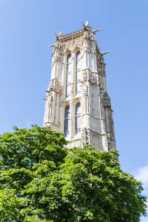 Saint-Jacques Tower, Paris, France. Stock Photo - 16811679
