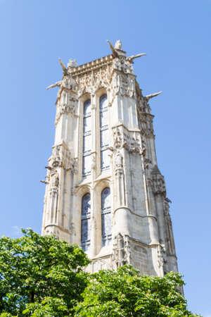 Saint-Jacques Tower, Paris, France. Stock Photo - 16810977