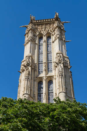 Saint-Jacques Tower, Paris, France. Stock Photo - 16812066