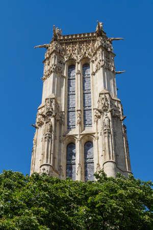 Saint-Jacques Tower, Paris, France. Stock Photo - 16812066
