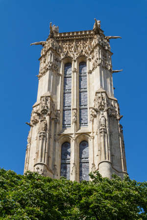 Saint-Jacques Tower, Paris, France. Stock Photo - 16812177