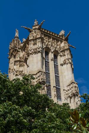 Saint-Jacques Tower, Paris, France. Stock Photo - 16811737