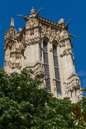 Saint-Jacques Tower, Paris, France. Stock Photo - 16812125