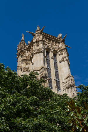 Saint-Jacques Tower, Paris, France. Stock Photo - 16812004