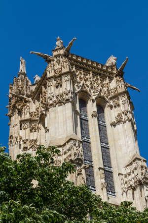 Saint-Jacques Tower, Paris, France. Stock Photo - 16812042