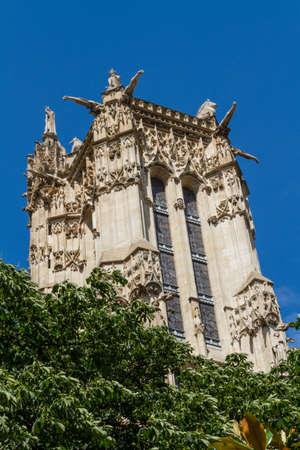 Saint-Jacques Tower, Paris, France. Stock Photo - 16812256