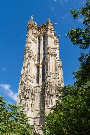 Saint-Jacques Tower, Paris, France. Stock Photo - 16812034