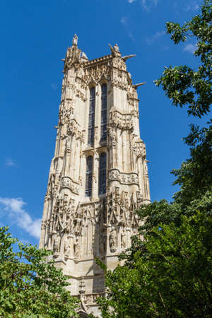 Saint-Jacques Tower, Paris, France. Stock Photo - 16812034