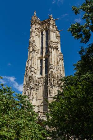 Saint-Jacques Tower, Paris, France. Stock Photo - 16812001