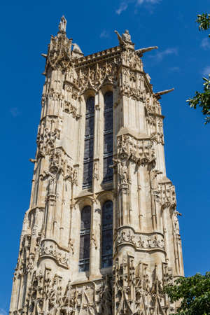 Saint-Jacques Tower, Paris, France. Stock Photo - 16811839