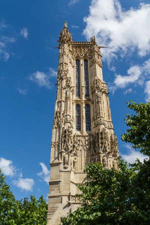 Saint-Jacques Tower, Paris, France. Stock Photo - 16811750