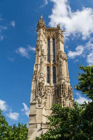 Saint-Jacques Tower, Paris, France. Stock Photo - 16811683