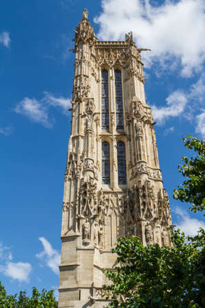 Saint-Jacques Tower, Paris, France. Stock Photo - 16811708