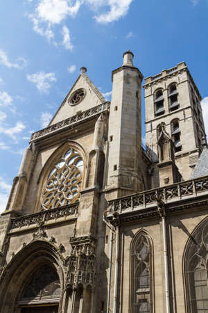 The Church of Saint-Germain-l'Aux errois, Paris, France Stock Photo - 16812015