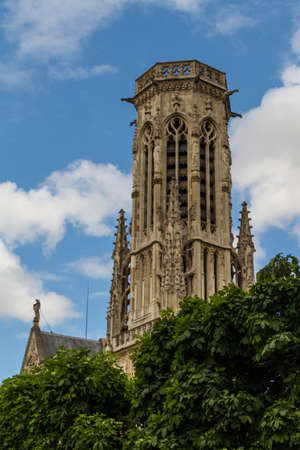 The Church of Saint-Germain-l'Aux errois, Paris, France Stock Photo - 16810910