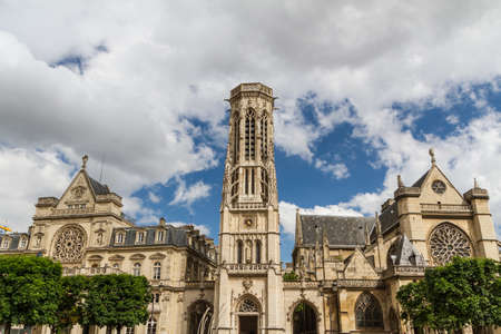 The Church of Saint-Germain-l'Aux errois, Paris, France Stock Photo - 16811122
