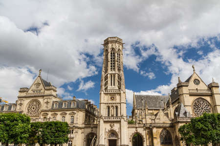 The Church of Saint-Germain-l'Aux errois, Paris, France Stock Photo - 16811076