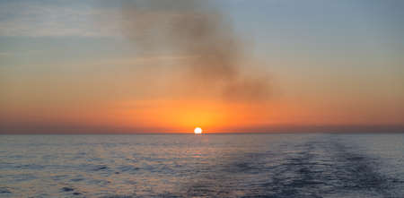 Sunset over the ocean Stock Photo - 16809323